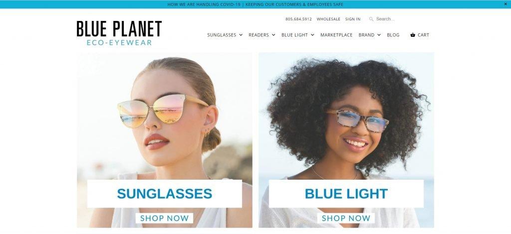 Shopify成功店鋪Blue Plalnet