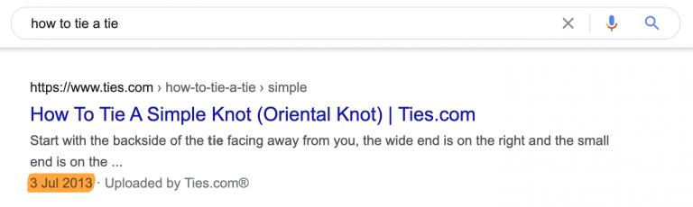 如何打平節的Google搜尋結果
